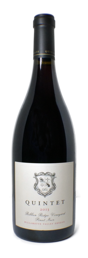 2013 Quintet Cellars Willamette Valley Pinot Noir [bottle photo]